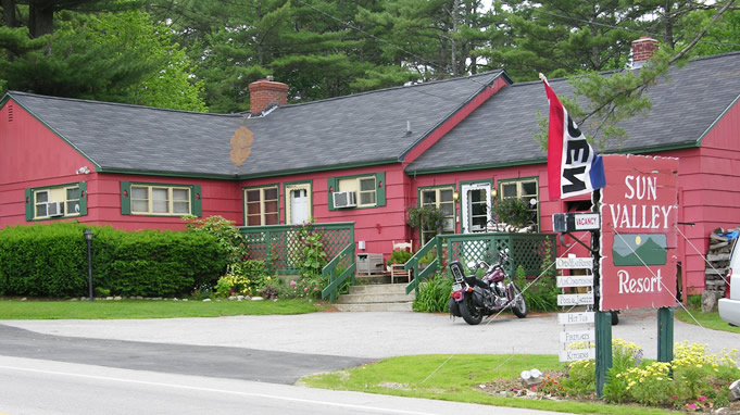 Sun Valley Cottages, Weirs Beach NH